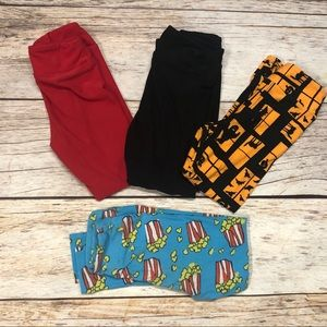 LuLaRoe Kids S/M Legging Lot